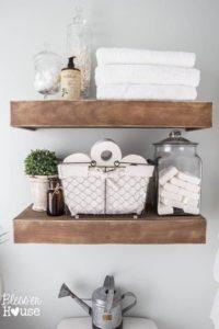bathrom shelves