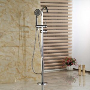 free standing faucet shower combination