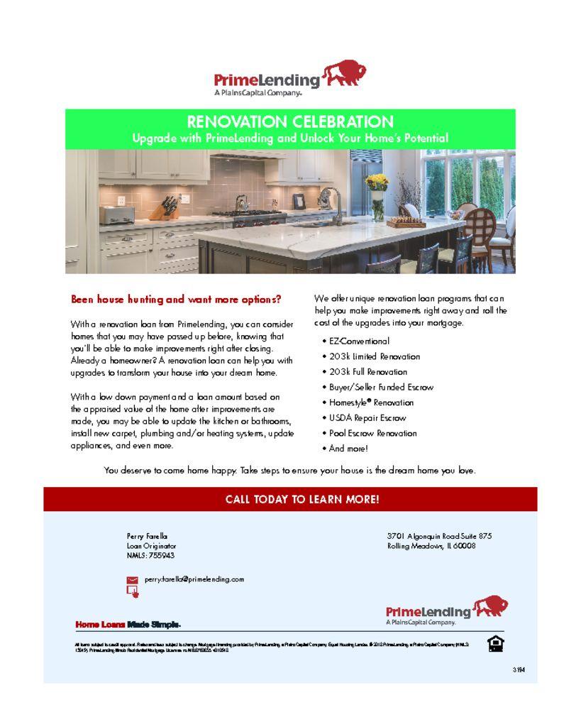 thumbnail of Renovation Celebration Flyer Consumer